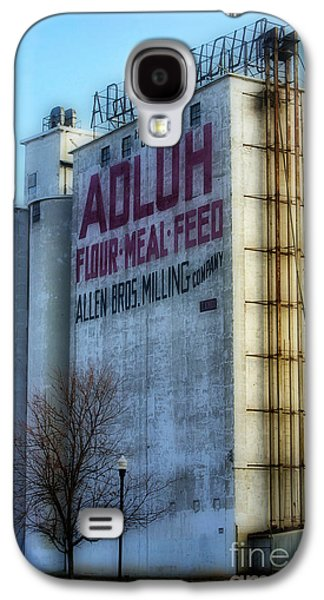 Feed Mill Galaxy S4 Cases - Adluh Flower Mill Galaxy S4 Case by Skip Willits