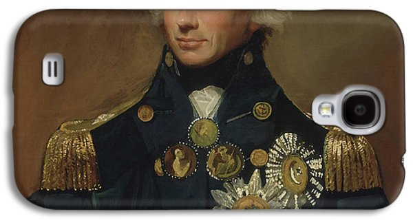 Warishellstore Paintings Galaxy S4 Cases - Admiral Horatio Nelson Galaxy S4 Case by War Is Hell Store