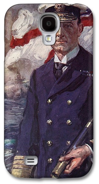 Wwi Paintings Galaxy S4 Cases - Admiral Sir John Jellicoe Galaxy S4 Case by Cyrus Cuneo