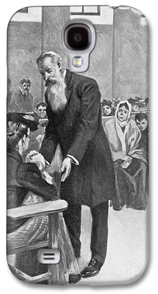 Crutch Galaxy S4 Cases - Adolf Lorenz (1854-1946) Galaxy S4 Case by Granger