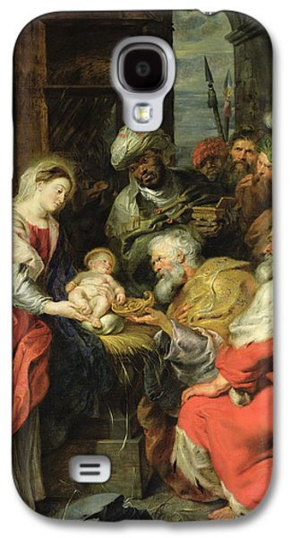 Adoration Of The Magi, 1626-29 Oil Canvas Galaxy S4 Case by Peter Paul Rubens