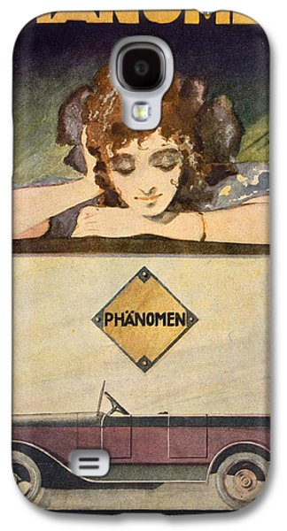 20s Galaxy S4 Cases - Advertisement for the Phanomen Car Galaxy S4 Case by Behrmann