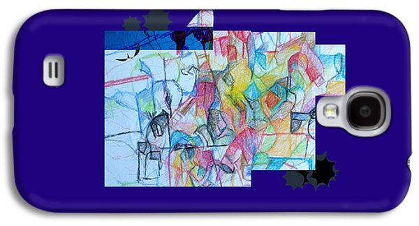 Inner Self Galaxy S4 Cases - Advertisement of self 1a Galaxy S4 Case by David Baruch Wolk