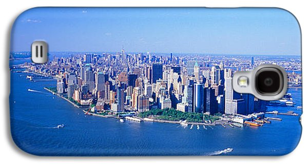 Wtc 11 Galaxy S4 Cases - Aerial Lower Manhattan New York City Ny Galaxy S4 Case by Panoramic Images