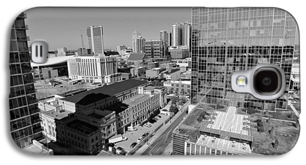 Aerial Photography Downtown Nashville Galaxy S4 Case by Dan Sproul