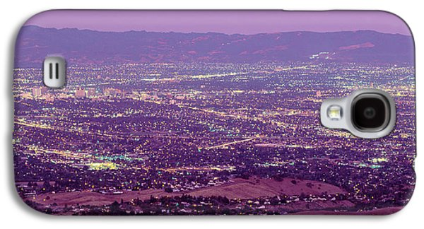 Brightly Galaxy S4 Cases - Aerial Silicon Valley San Jose Galaxy S4 Case by Panoramic Images