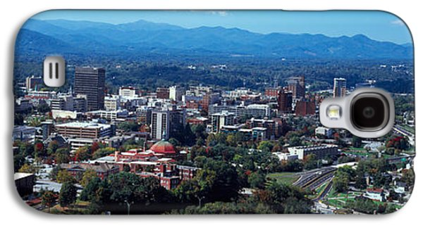 Asheville Galaxy S4 Cases - Aerial View Of A City, Asheville Galaxy S4 Case by Panoramic Images