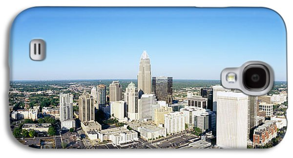 Charlotte Photographs Galaxy S4 Cases - Aerial View Of A City, Charlotte Galaxy S4 Case by Panoramic Images