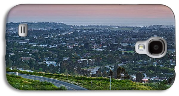 Road Travel Galaxy S4 Cases - Aerial View Of A City Viewed Galaxy S4 Case by Panoramic Images