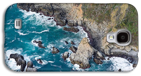 Big Sur California Galaxy S4 Cases - Aerial View Of A Coast, Big Sur Galaxy S4 Case by Panoramic Images