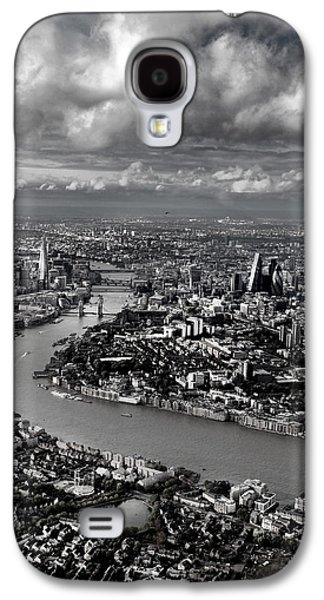 Aerial View Of London 4 Galaxy S4 Case by Mark Rogan