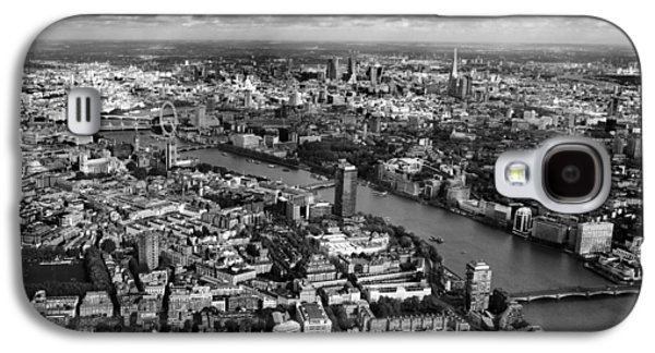 Aerial View Of London Galaxy S4 Case by Mark Rogan