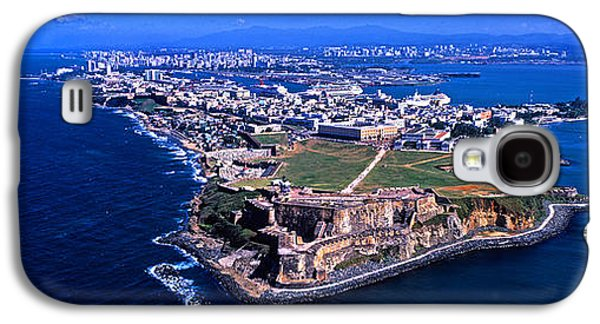 Puerto Rico Galaxy S4 Cases - Aerial View Of The Morro Castle, San Galaxy S4 Case by Panoramic Images