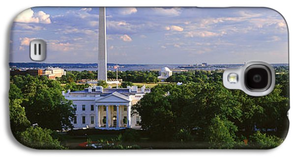 Aerial, White House, Washington Dc Galaxy S4 Case by Panoramic Images