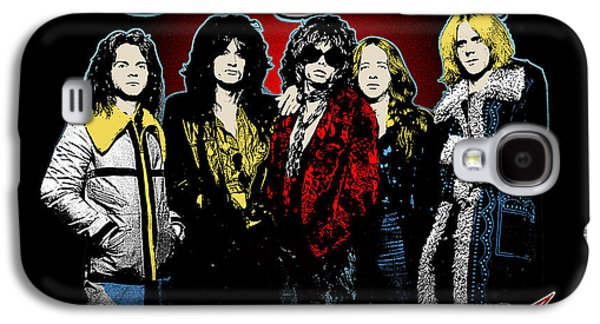 Vocal Galaxy S4 Cases - Aerosmith - 1970s Bad Boys Galaxy S4 Case by Epic Rights
