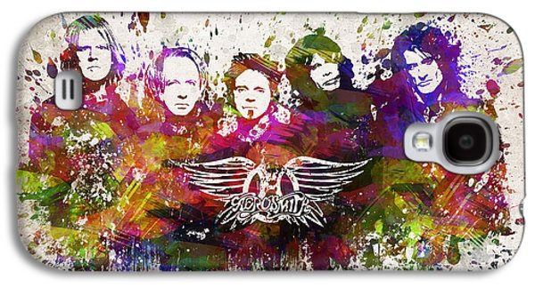Aerosmith In Color Galaxy S4 Case by Aged Pixel