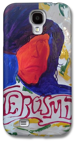 Steven Tyler Paintings Galaxy S4 Cases - Aerosmith Galaxy S4 Case by Michael Greeley
