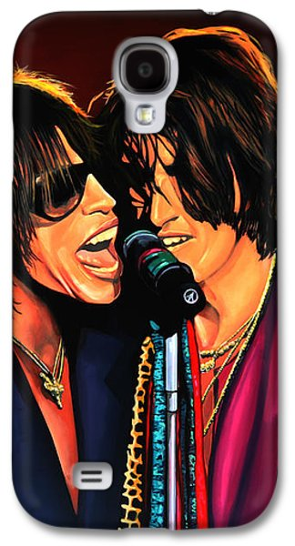 Aerosmith Toxic Twins Painting Galaxy S4 Case by Paul Meijering