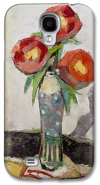 Becky Kim Paintings Galaxy S4 Cases - Aesthetic Galaxy S4 Case by Becky Kim