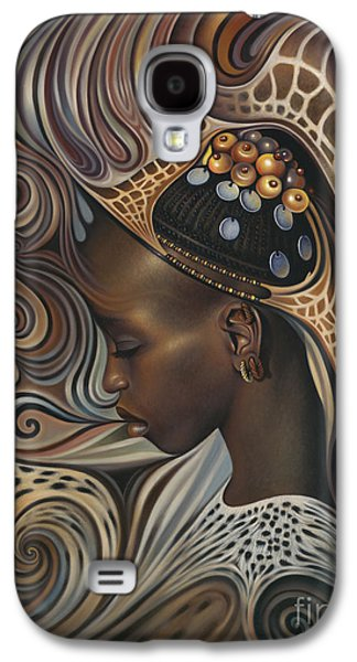 Earth Galaxy S4 Cases - African Spirits II Galaxy S4 Case by Ricardo Chavez-Mendez
