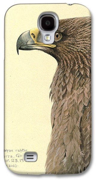 1874 Galaxy S4 Cases - African Tawny Eagle Galaxy S4 Case by Louis Agassiz Fuertes