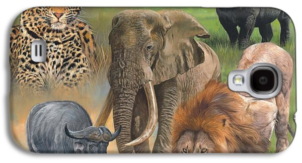 Africa's Big Five Galaxy S4 Case by David Stribbling