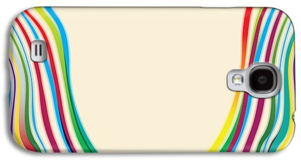 Featured Art Galaxy S4 Cases - After Morris Louis 2 Galaxy S4 Case by Gary Grayson
