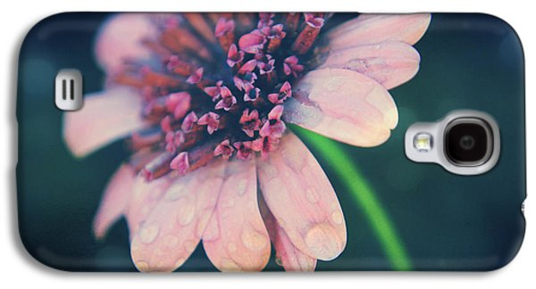 Textured Floral Galaxy S4 Cases - After the Rain  Galaxy S4 Case by Laurie Search