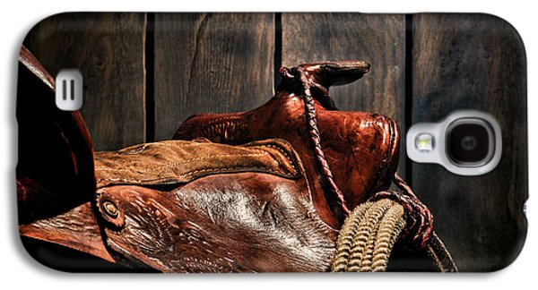 Saddle Galaxy S4 Cases - After the Round Up Galaxy S4 Case by Olivier Le Queinec