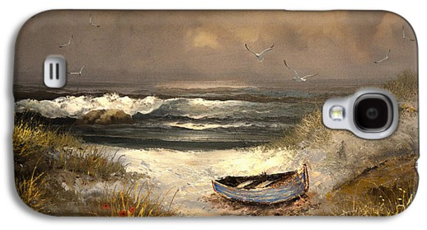 Beach Landscape Galaxy S4 Cases - After The Storm Passed Galaxy S4 Case by Sandi OReilly