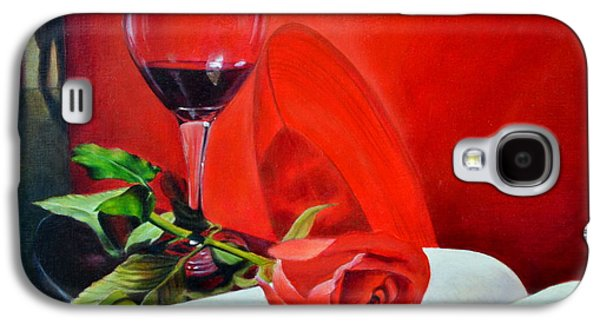 Single Figure Study Paintings Galaxy S4 Cases - After the Trial Galaxy S4 Case by Maxx Phoenixx