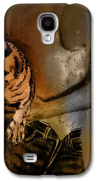 Photo Manipulation Pastels Galaxy S4 Cases - After The Workout Galaxy S4 Case by EricaMaxine  Price