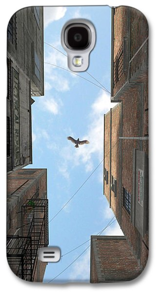 Mechanics Galaxy S4 Cases - Afternoon Alley Galaxy S4 Case by Cynthia Decker