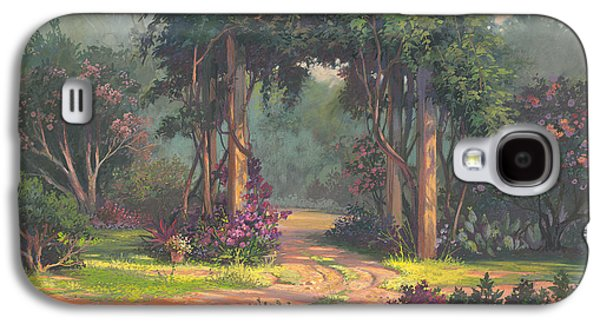 Vines Galaxy S4 Cases - Afternoon Arbor Galaxy S4 Case by Michael Humphries
