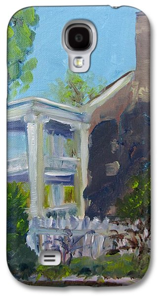 Carnton Plantation Galaxy S4 Cases - Afternoon at Carnton Plantation Galaxy S4 Case by Susan E Jones