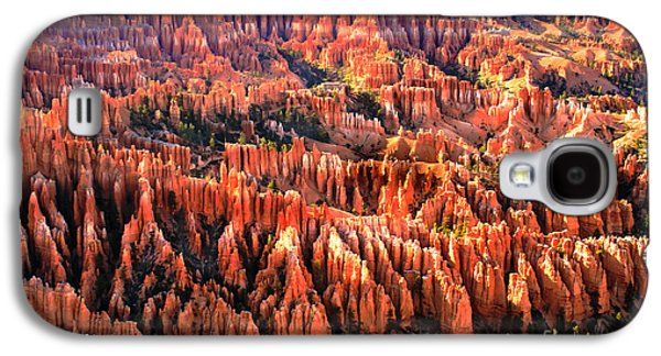 Recently Sold -  - Haybale Galaxy S4 Cases - Afternoon Hoodoos Galaxy S4 Case by Robert Bales
