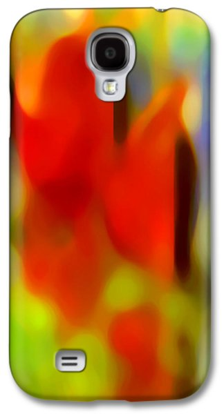 Abstract Forms Galaxy S4 Cases - Afternoon in the Park Galaxy S4 Case by Amy Vangsgard