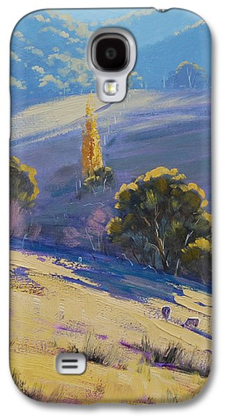Shed Galaxy S4 Cases - Afternoon Light Grazing Galaxy S4 Case by Graham Gercken