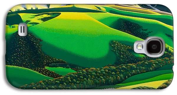 Galaxy S4 Cases - Afternoon Shadows Galaxy S4 Case by Michael Wicksted