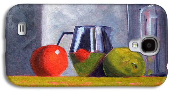 """""""indoor"""" Still Life Paintings Galaxy S4 Cases - Against Giants Galaxy S4 Case by Nancy Merkle"""