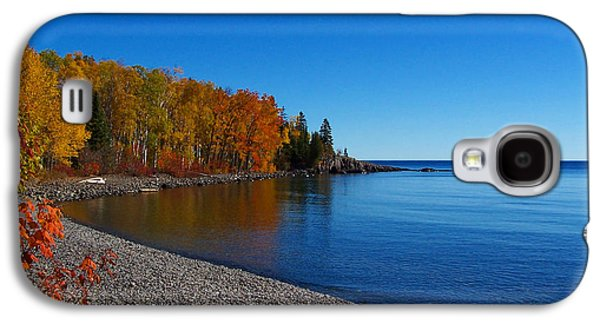 Agate Beach Galaxy S4 Cases - Agate Beach on Lake Superior Galaxy S4 Case by Steve Anderson
