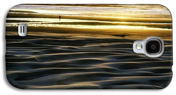 Agate Beach Oregon Galaxy S4 Cases - Agate Beach Sunset Galaxy S4 Case by Thomas Chamberlin
