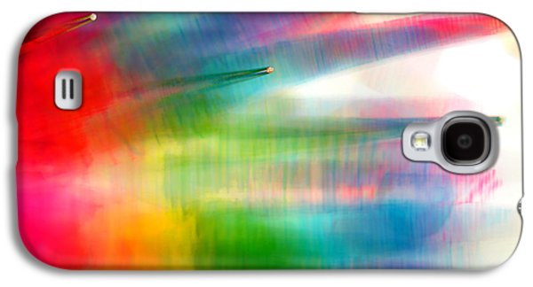 Abstract Digital Photographs Galaxy S4 Cases - Age of Aquarius Galaxy S4 Case by Dazzle Zazz