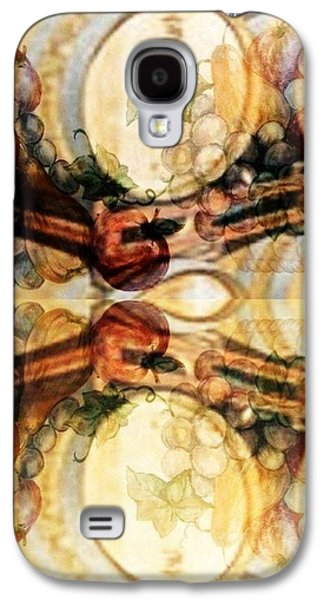 Grapes Art Deco Galaxy S4 Cases - Aging Barrels Galaxy S4 Case by PainterArtist FIN