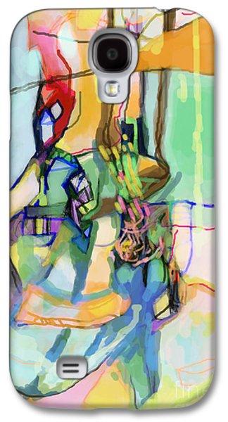 Self-renewal 13q Galaxy S4 Case by David Baruch Wolk
