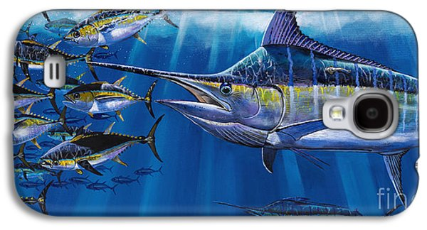 Marlin Galaxy S4 Cases - Agressor Off00140 Galaxy S4 Case by Carey Chen