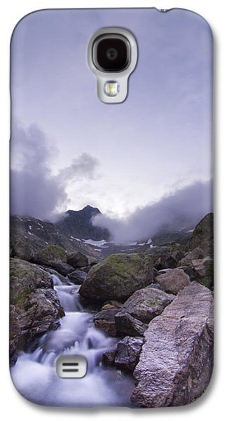 Landscapes Photographs Galaxy S4 Cases - Aiguille Rouge French Alps Galaxy S4 Case by Mircea Costina Photography