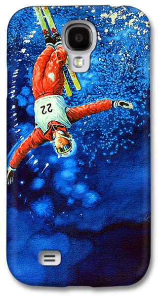 Canadian Sports Paintings Galaxy S4 Cases - Air Force Galaxy S4 Case by Hanne Lore Koehler