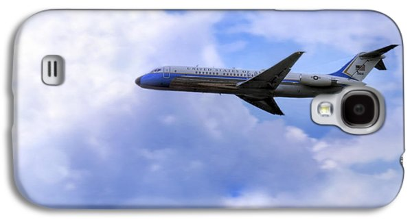Air Force One - Mcdonnell Douglas - Dc-9 Galaxy S4 Case by Jason Politte