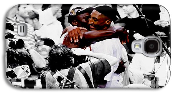 Pippen Galaxy S4 Cases - Air Jordan and Scottie Pippen II Galaxy S4 Case by Brian Reaves